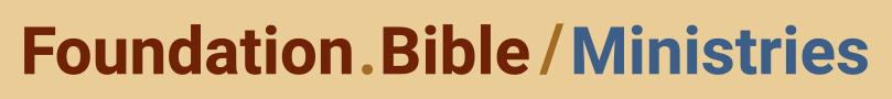 Foundation.Bible